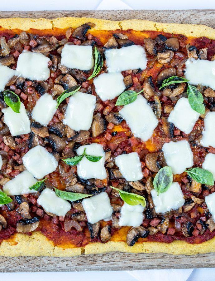 Bezglutenowa pizza z dynią