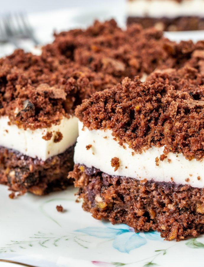 Bezglutenowe ciasto kakaowe z dynią