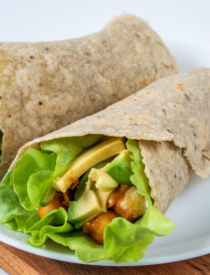 Bezglutenowe wrapy tortille z ziołami