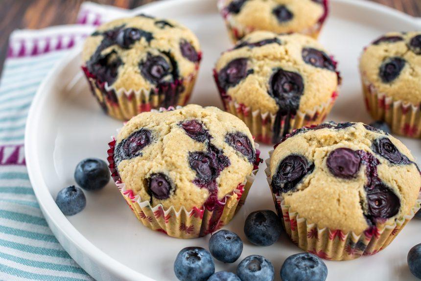 Bezglutenowe muffinki bez nabiału