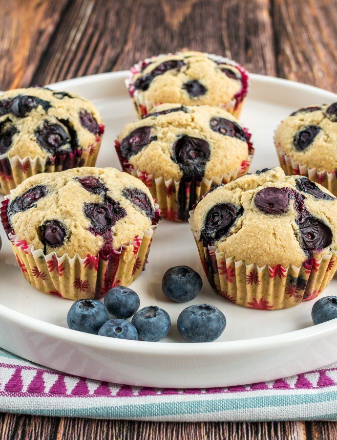 Bezglutenowe muffinki bez laktozy