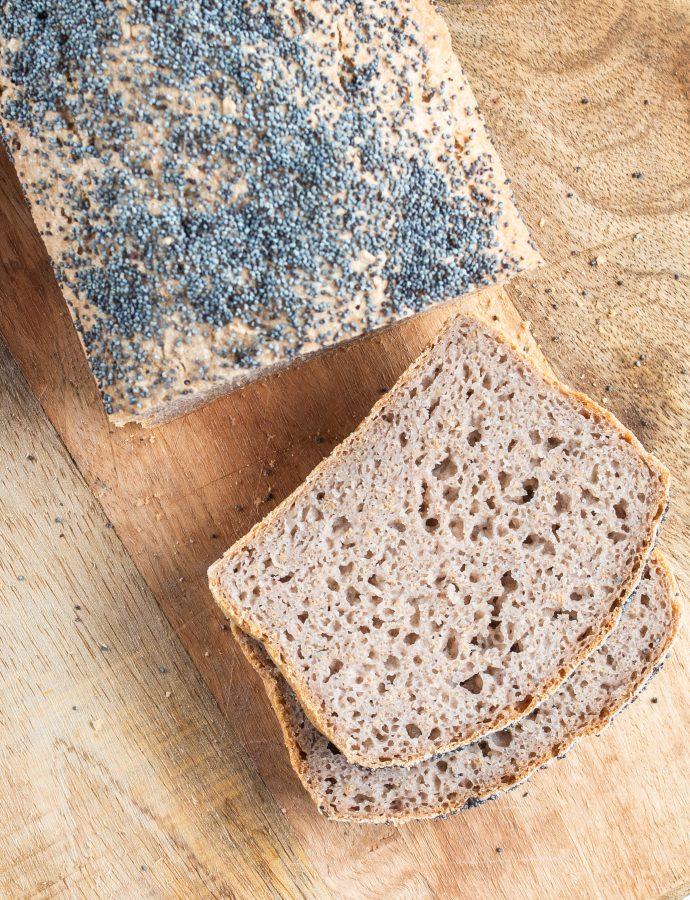 Bezglutenowy chleb gryczano ryżowy