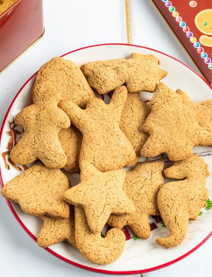 Bezglutenowe ciasteczka piernikowe