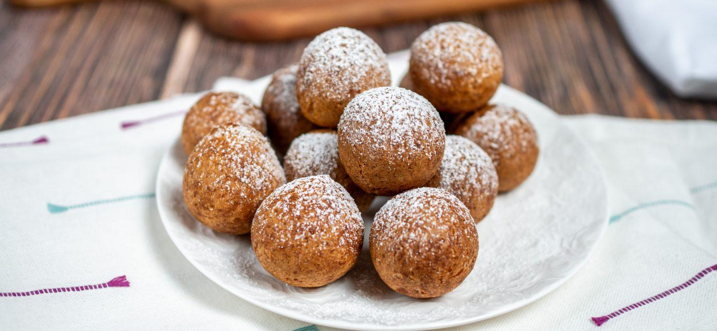 Pączki z batatów bez glutenu i laktozy