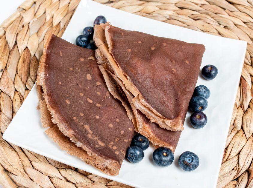 Bezglutenowe naleśniki kakaowe