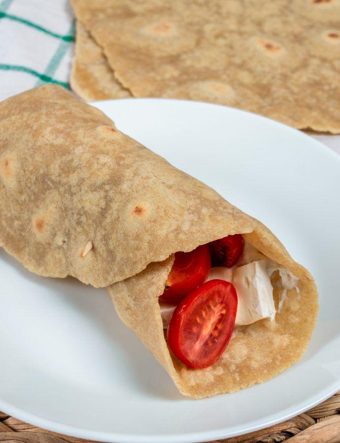 Gryczane tortille bez glutenu