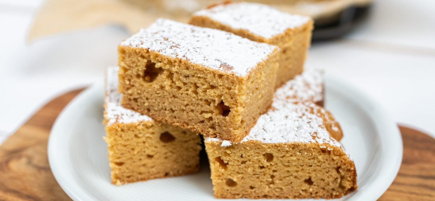Szybkie ciasto z mango (bez glutenu i laktozy)