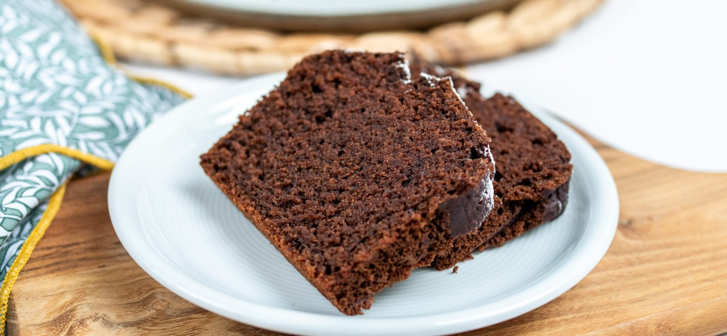 Ciasto kakaowe bez glutenu laktozy i jajek