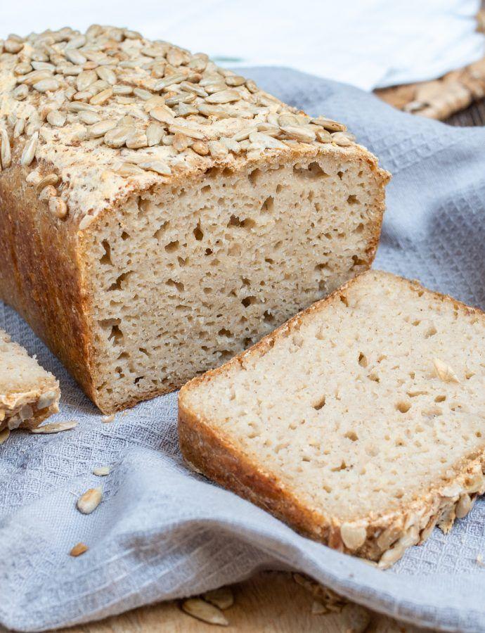 Chleb bez glutenu na zakwasie gryczano ryżowym