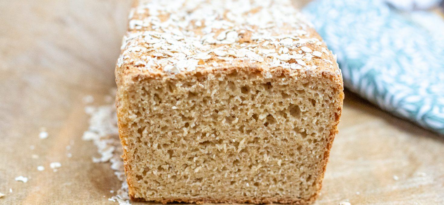 Bezglutenowy chleb z miodem