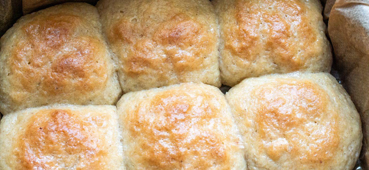 Pieczone buchty bez glutenu