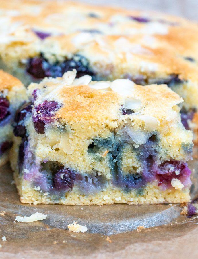 Ciasto na śmietanie z owocami (bez glutenu)