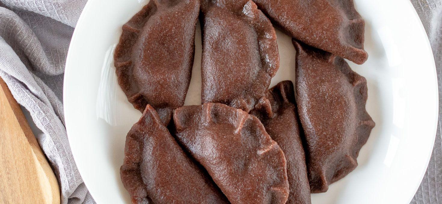 Pierogi kakaowe bez glutenu