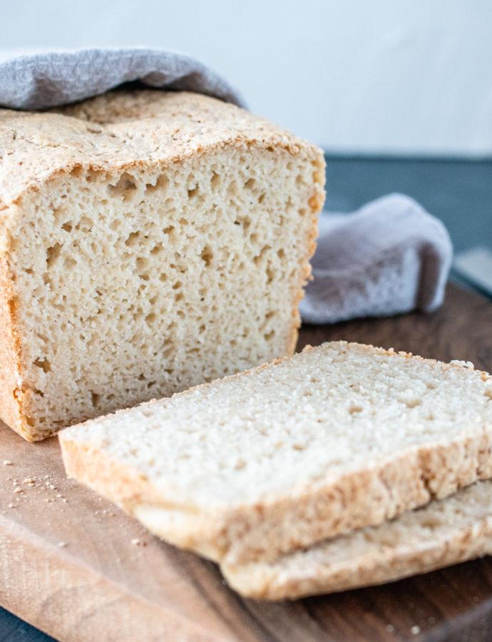 Chleb owsiano ryżowy na kefirze