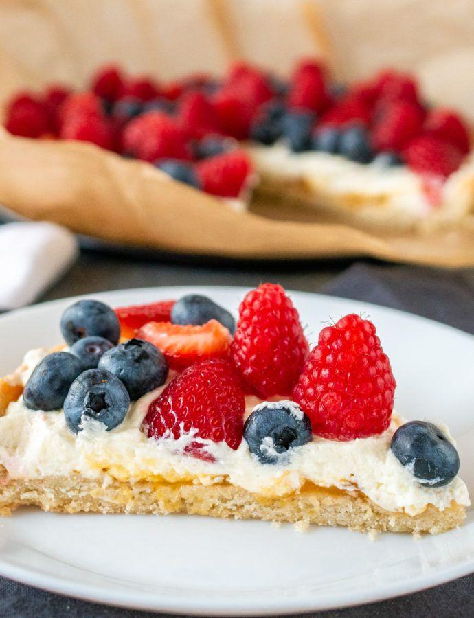 Bezglutenowa tarta z mascarpone i owocami